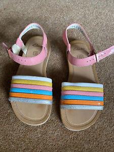 Clarks Girls Sandals 13F Worn Once