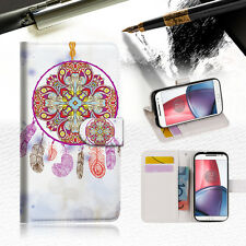 Dream Catcher Wallet TPU Case Cover For  Motorola Moto X Force-- A016