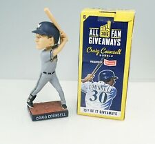 2016 Milwaukee Brewers Craig Counsell Batting Stance Bobblehead In Box