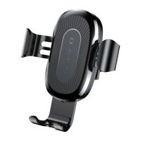 BASEUS Car Air Vent Mount Qi Wireless Charging Holder for iPhone X/8/8 Plus