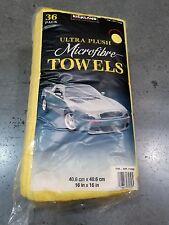 Microfiber Towels Kirkland Signature Ultra Plush Auto Home 36 PCS 16x16 Costco