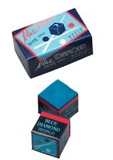 2 Pieces Of Blue Diamond Pool Chalk - Longoni Premium Quality Billiard Chalk