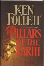 The Pillars of the Earth by Ken Follett (1983, Hardcover) (First Edition)