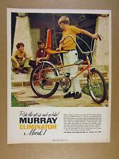 1969 Murray Eliminator Mark I Bike bicycle color photo vintage print Ad