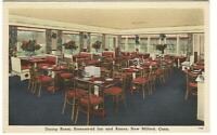 Postcard Dining Room Homestead Inn and Annex New Milford CT