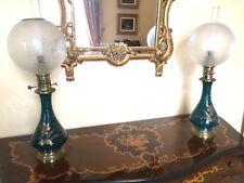 Lampes à huile Napoléon III