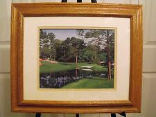 Augusta National  Masters Golf  Print RED BUD HOLE # 16 Danny Day LimitedEd.