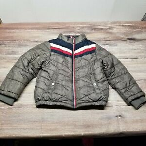 Tommy Hilfiger Youth Boys Size 5/6 XS Spell Out Puffer Jacket Coat