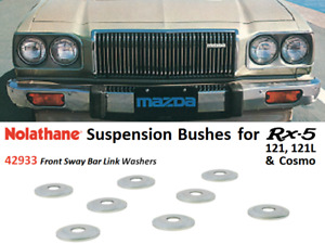 Rx5 / 121 / 121L / Cosmo Suspension Washers (Nolathane 42933 - Front Sway Bar)