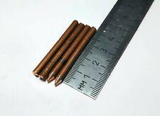 Spot Welding Electrode Tips 4.2x40 Chromium Copper  C18200 Solder Pin Needle