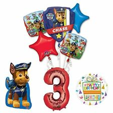 The Ultimate Paw Patrol 3rd Birthday Party Supplies and Balloon Decorations