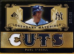 2007 SP Legendary Materials LM-PO PAUL O'NEILL Yankees 107/199 Jersey NM-MT+