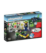 Playmobil 5086 Top agentes laboratorio con Jet