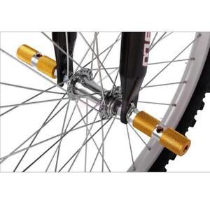 "2pcs BMX MTB Stunt Scooter Pegs Aluminium Alloy Bike Bicycle Axle Foot 3/8"""