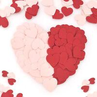 100Pcs 3cm Heart Shape Paper Confetti DIY Wedding Party Table Glitter Decoration