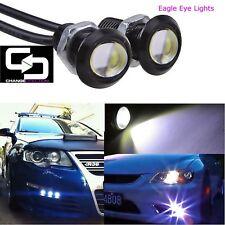 EAGLE EYE LIGHTS (Qty:4pcs) 3.5W 12VDC COB LED – 23mm Dia – Black Base - C White