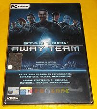 STAR TREK AWAY TEAM Pc Versione Ufficiale Italiana 1ª Edizione ○○ NUOVO