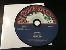RARE CD Single  Kiss - Strutter / 100,000 Years   CASABLANCA NM