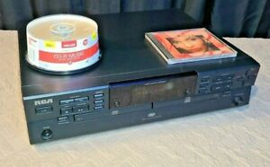 RCA CDRW120-Dual Tray CD Player Recorder Rewriter-Clean And Working!