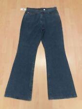 Denim Regular Size Stretch Trousers for Women