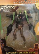 Batman Begins Power Tek ~Batman With Laser Blaster~Action