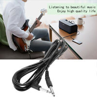 High Quality 10ft 3m Electric Patch Guitar Amplifier AMP Instrument Cable Cord