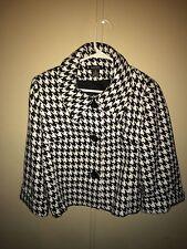 Spense Houndstooth Women's Coat Size M