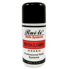 120ml 4oz Profesional Acrilico Brush Cleaner Limpiador Para Nail Art Pen Removedor