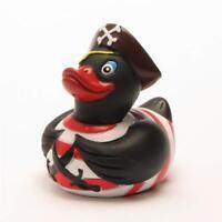 ☘ Badeente Pirat schwarz Quietscheentchen Gummiente Quietscheente Plastikente ☘