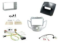 Connects2 Ford Fiesta Mk7 2010 on Double Din Stereo Fitting Kit Silver / Grey