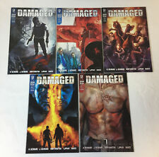 Radical comics DAMAGED #1 2 3 4 5 ~ FULL SET