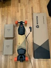 Boosted Board  V2 Dual+ Electric Longboard + 2 New Lithium Batteries - Low Miles