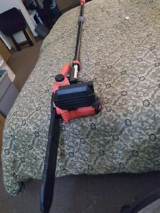 """Craftsman 10"""" Corded Chainsaw with Extension Pole CMECSP610"""