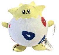 "Rare Play By Play Pokemon 9"" Plush Togepi Vintage 1999 Nintendo Soft Toy Doll"