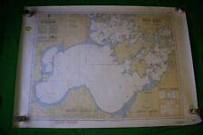 Ontario - Big Traverse Bay - 46.5x33  -Vintage 1988 Nautical Chart/Map