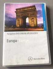MERCEDES COMAND APS SAT NAV NAVIGATION DVD EUROPE A B C M R G GL CLASS CLK CLC