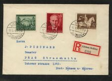Germany   Liebau   registered  cover  1943            MS0120