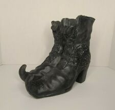Witch's Boots Tea Light Holder Halloween -Witch Crafters-Yankee Candle Style