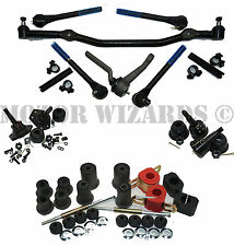 Front End Suspension MASTER Kit Ball Joints+ROUND A-Arm Bushings GM A-Body 68-70