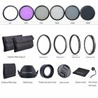 58mm Macro Close Up Set  UV CPL FLD  ND Filter Kit for Canon 18-55mm Lens