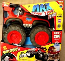 Red Max Tow Truck Turbo Pulls 200 Lbs,Now With Max Speed! 2015 Toy of the Year