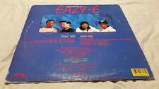 RARE EAZY-E LP VINYL RECORD RADIO EAZY DUZ IT RUTHLESS VILLAIN