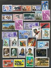 RWANDA - Lot of old stamps. MNH and USED
