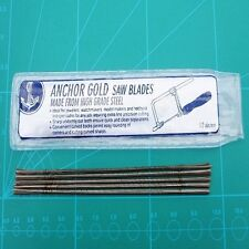 Jeweller's Saw Blades 144 Blade Packs For Piercing and Fret Saw Frames