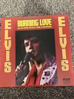 Elvis Burning Love Vinyl LP
