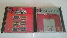 PACK:NAMCO MUSEUM y WILLIAMS ARCADE´S GREATEST HITS PLAYSTATION 1 PS1 PSX.PAL UK