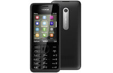 Nokia 301 3G Black Single SIM Camera Colour Display Cheap phone Sydney shipping