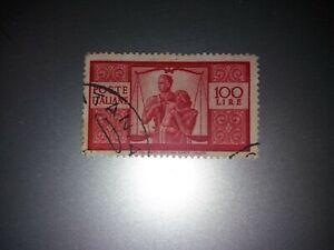 1945 Repubblica Democratica 100 lire usato