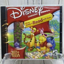 VTG DISNEY'S READY TO READ WITH POOH AGES 3-6 CD-ROM Windows 95/98 Free Shipping