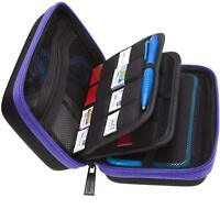 Nintendo 2DS XL/3DS XL Carry Case,Large Stylus, Fits Wall Charger,24 Card holder